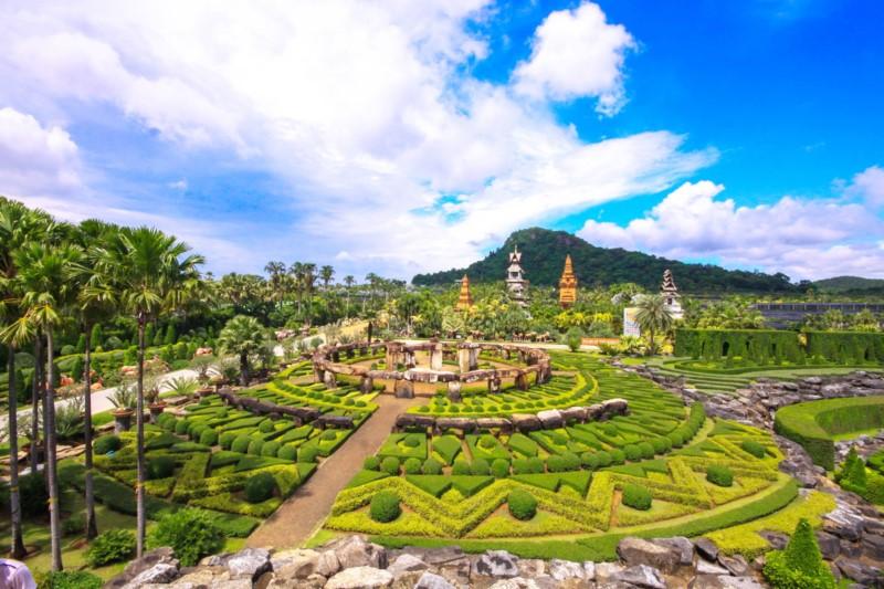 Bay Beach Resort Jomtien :Nong Nooch Tropical Garden Pattaya