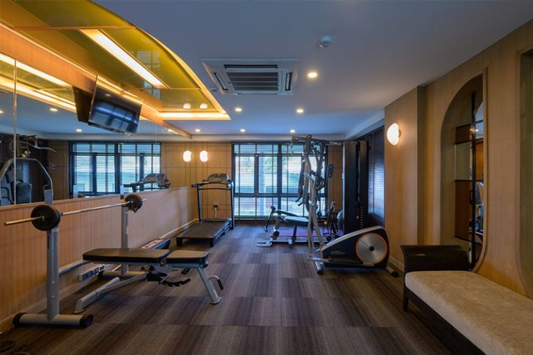 Bay Beach Resort Jomtien : Fitness Room