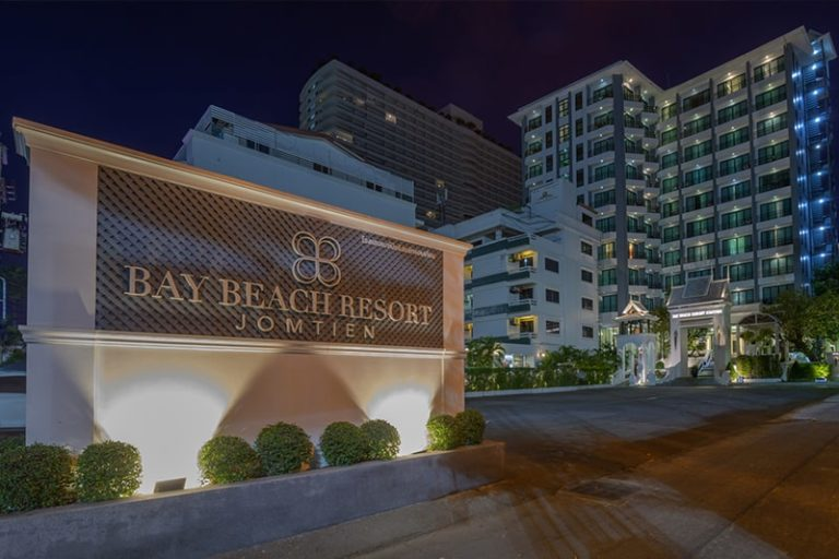 Bay Beach Resort Jomtien : Hotel Exterior